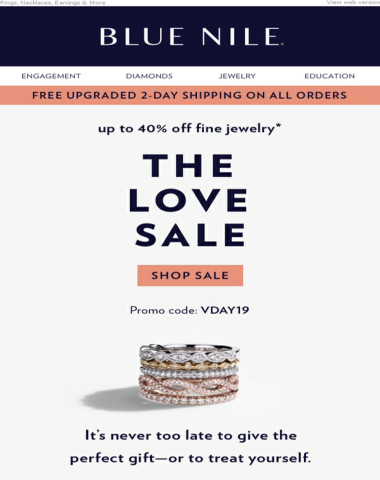 The Love Sale ? Up To 40% Off Valentine's Day Favorites!