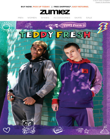 NEW ⇨ Teddy Fresh · Deathworld · Vans