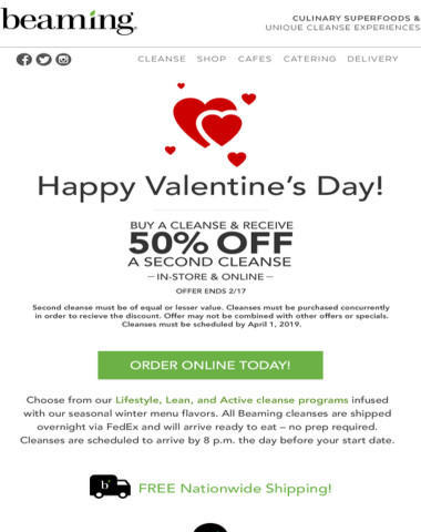 Happy Valentine's Day! Cleanse with a Loved One