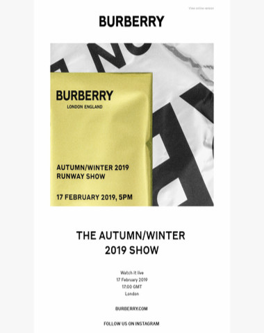 The Autumn/Winter 2019 Show