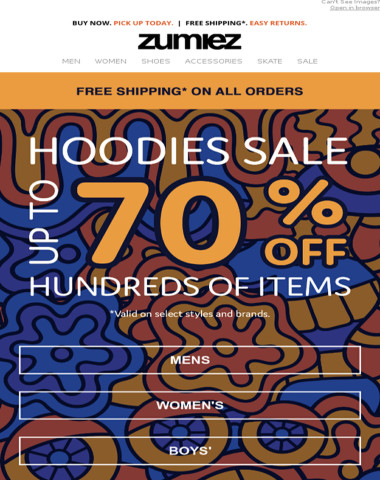 HOODIE SALE - Up to 70% OFF