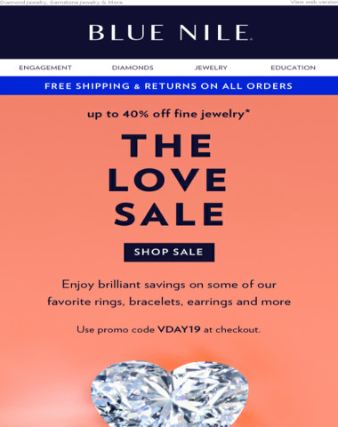 Up To 40% Off: The Love Sale Has Been Extended!