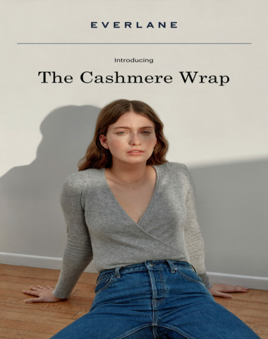 The Cashmere Wrap Is Here