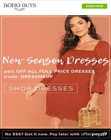 New Season Dresses