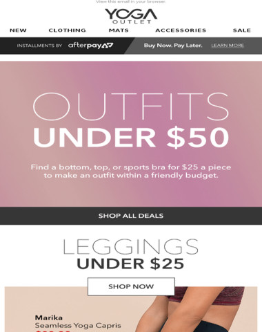 OUTFITS UNDER $50