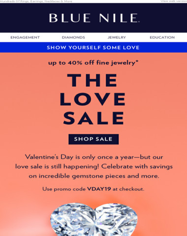 The Love Sale: Treat Yourself With Up To 40% Off Fine Jewelry
