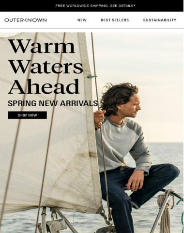 WARM WATERS AHEAD