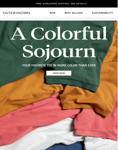 A COLORFUL SOJOURN