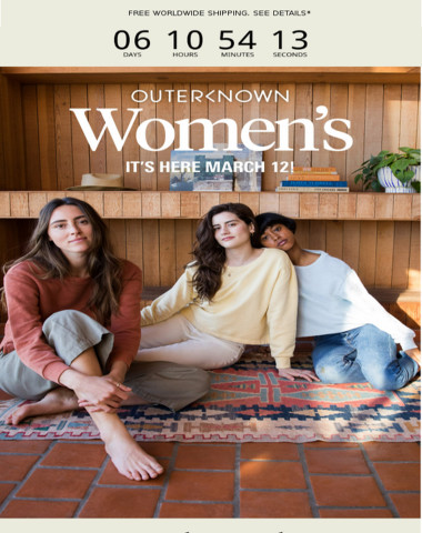 Outerknown Women's Is Almost Here!