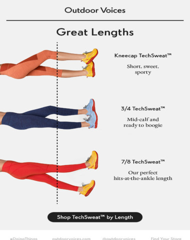 Recreationalists, lend us your legs