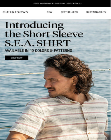 LESS (SLEEVE) IS MORE