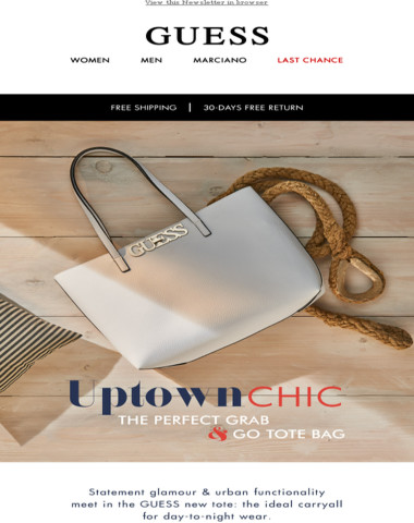 The new it-bag: Uptown Chic