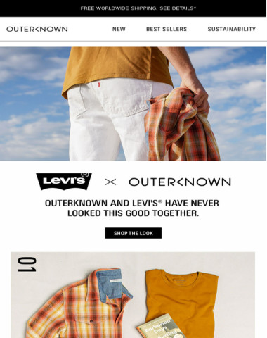 Levi's® Wellthread™ x Outerknown Have Never...