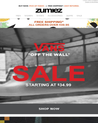 ? VANS // SALE + Exclusive Apparel