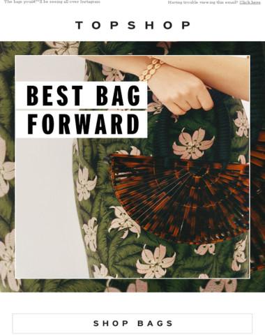 Put your best bag forward…