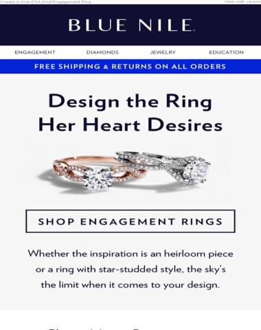 Get Inspired & Design Her Dream Ring ?