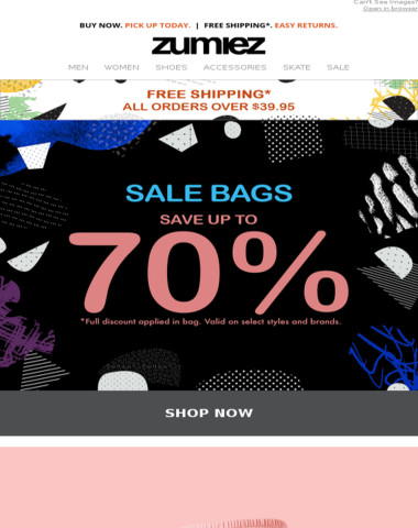 NEW ⇨ Athletic & Casual Styles + SALE BAGS
