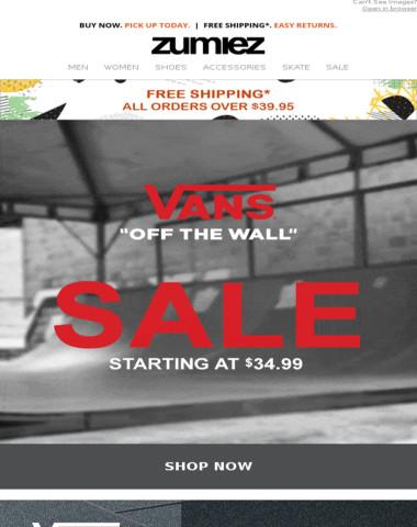 ? VANS // SALE + New Styles!