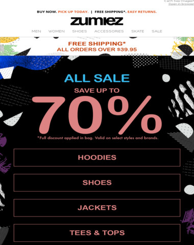 ? SALE - Up to 70% OFF ?