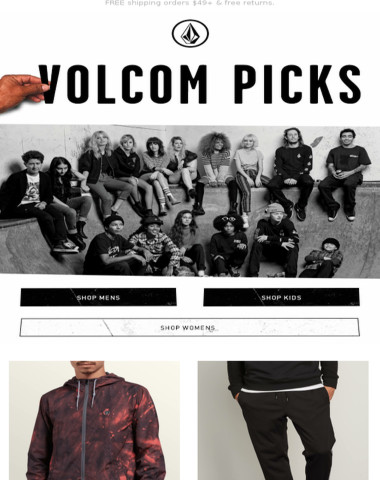 Volcom picked this Ermont Jacket just for you!