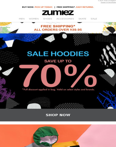 ⇨ HOODIE SALE - Up to 70% OFF + New Arrivals