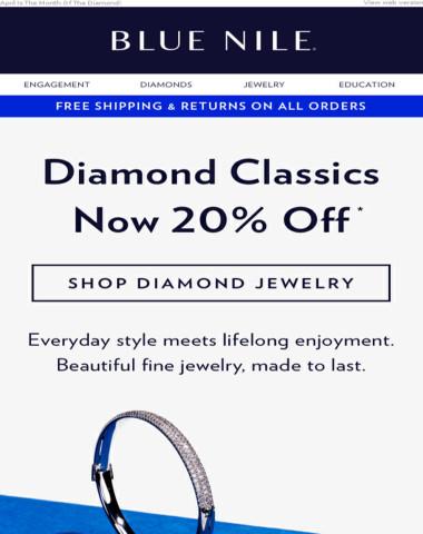 Save 20% On Diamond Essentials ?