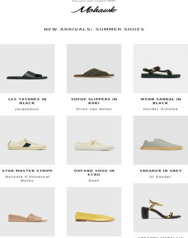 NEW ARRIVALS | Summer Shoes