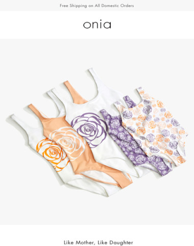 Swimwear for Charity — Onia x Every Mother Counts