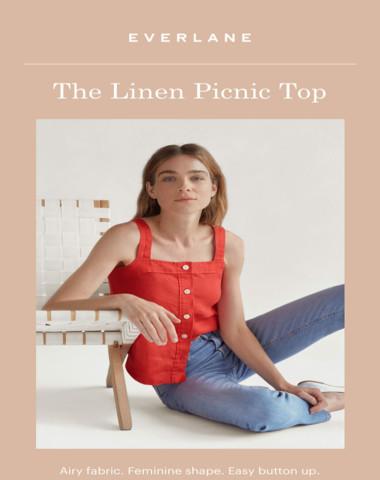 Meet The Linen Picnic Top