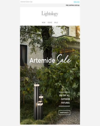 Artemide Outdoor SALE