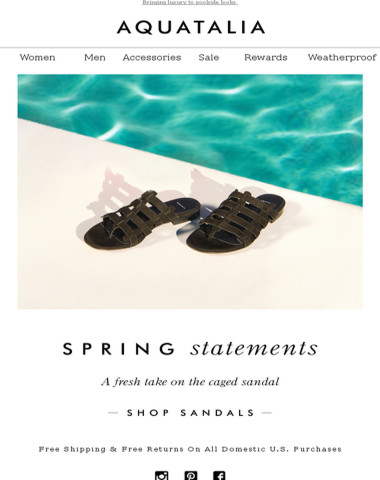 NOW TRENDING | The Caged Sandal