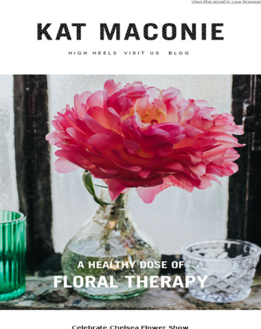 Save the date | Floral Therapy event