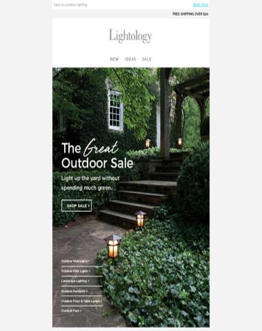 SALE: Outdoor Lighting
