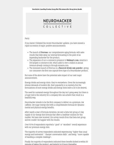 Big News At Neurohacker