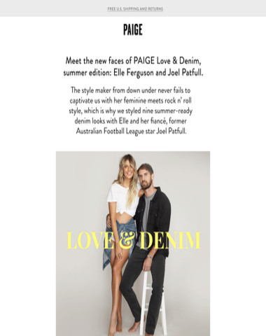 Love & Denim // Guess Who
