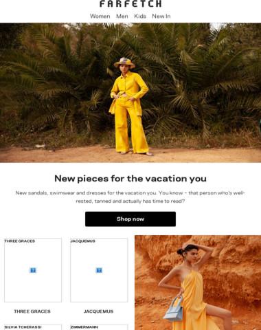 Plan your escape. 250-plus vacation pieces