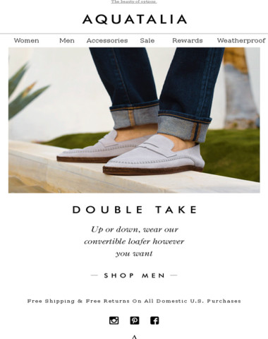 NOW TRENDING | The Convertible Loafer