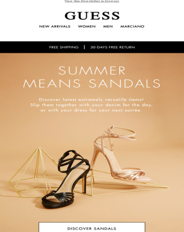 The chicest sandal to own now