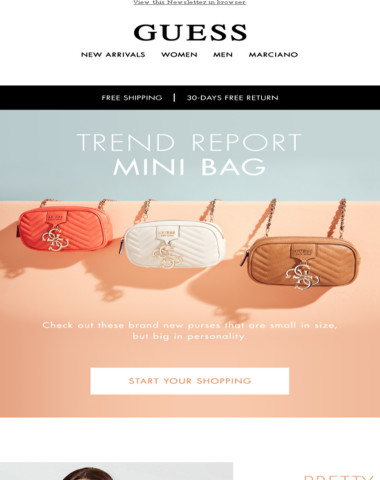Your fave Bag now comes in mini