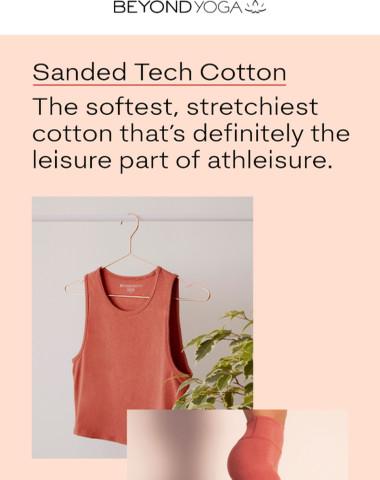 Meet SANDED TECH COTTON
