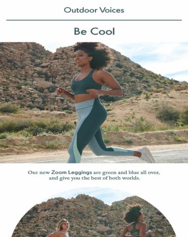 New shades in our speediest legging