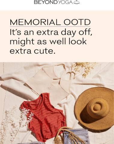 Your MEMORIAL OOTD