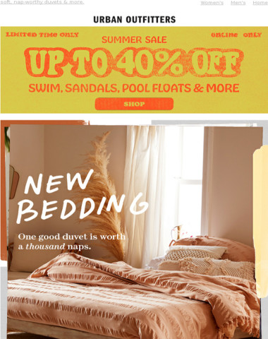 our two favorite words: new. bedding. ❤️