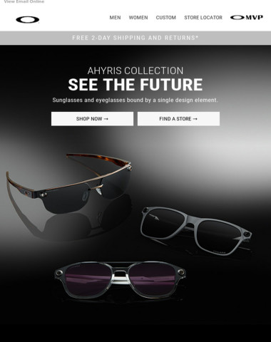 New Ahyris Collection - See The Future