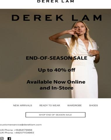 Spring Sale Is Here | Derek Lam