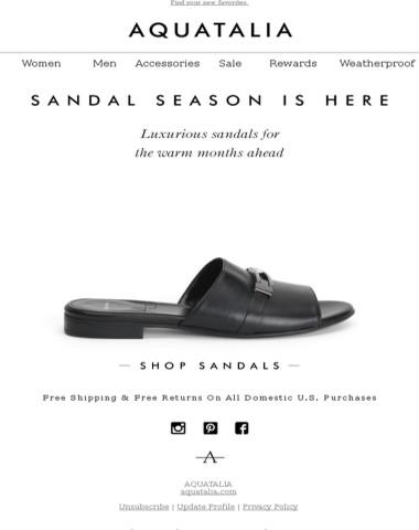 SPOTLIGHT ON | The Sandal Shop