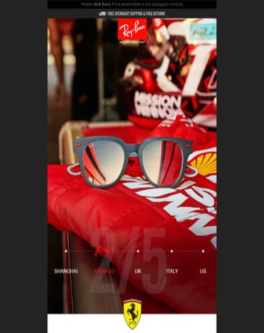 Scuderia Ferrari // The Monaco Limited Edition is here