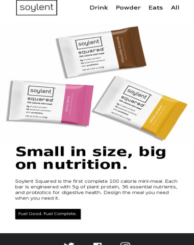 Soylent Squared: Exclusively on soylent.com