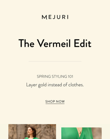 The Vermeil Edit