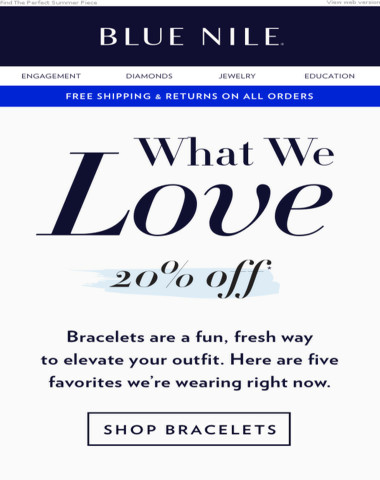 This Week Only: 20% Off Bracelets We Love